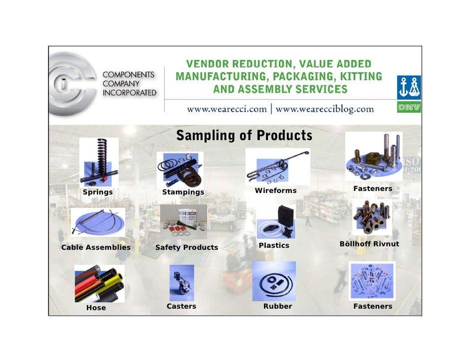 Components Company Corporate Presentation