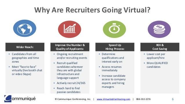 virtual career fair software virtual job fair platform