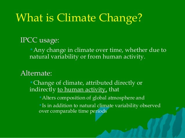 impact of climate change pdf