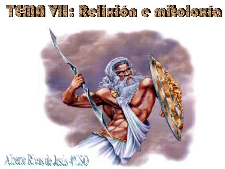Do caos ao nacemento de Zeus   Definición de mito   Caos: Gea e Eros   Urano   Titanes: Cronos, Rea, Caos, Febe, Océan...