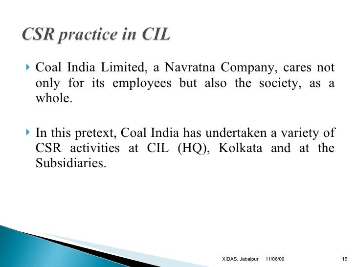 coal india ltd Coal india ltd has declared 12 dividends since feb 18, 2011 in the past 12 months, coal india ltd has declared an equity dividend amounting to rs 1650 per share at the current share price of rs 26285, this results in a dividend yield of 628.