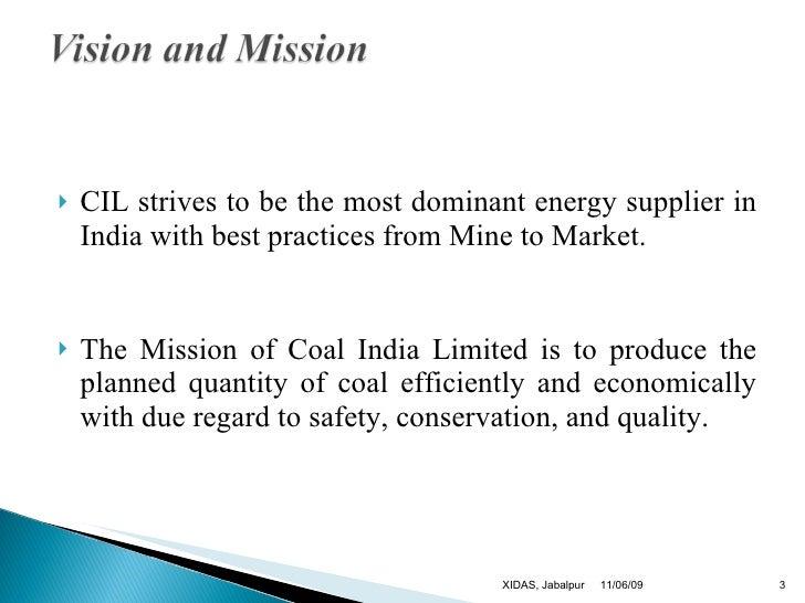 Csr Of Coal India Ltd