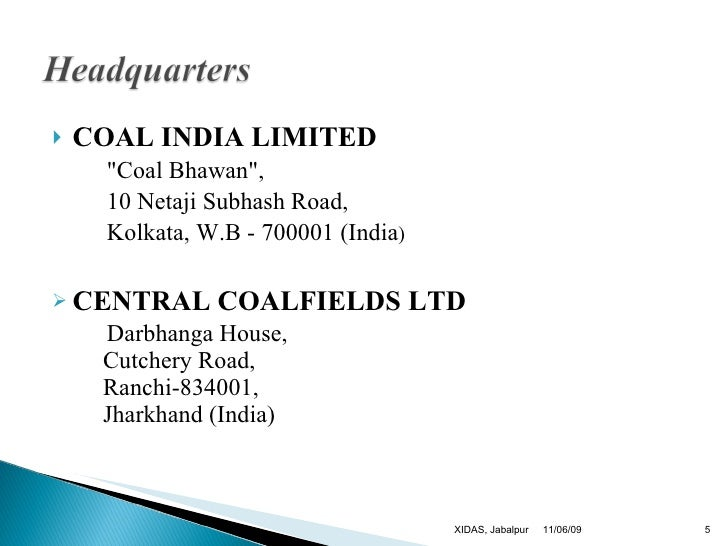 coal india ltd Shri anil kumar jha has assumed charge of chairman-cum-managing director of coal india  mobile app for power coal consumers medical services at coal india.