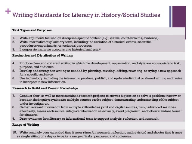 Literacy in History/Social Studies: Strategies for Middle
