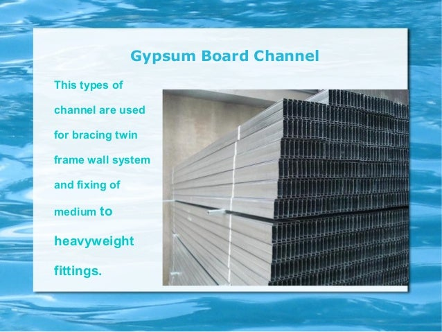 Types Of Gypsum ~ Uses of gypsum boards in construction