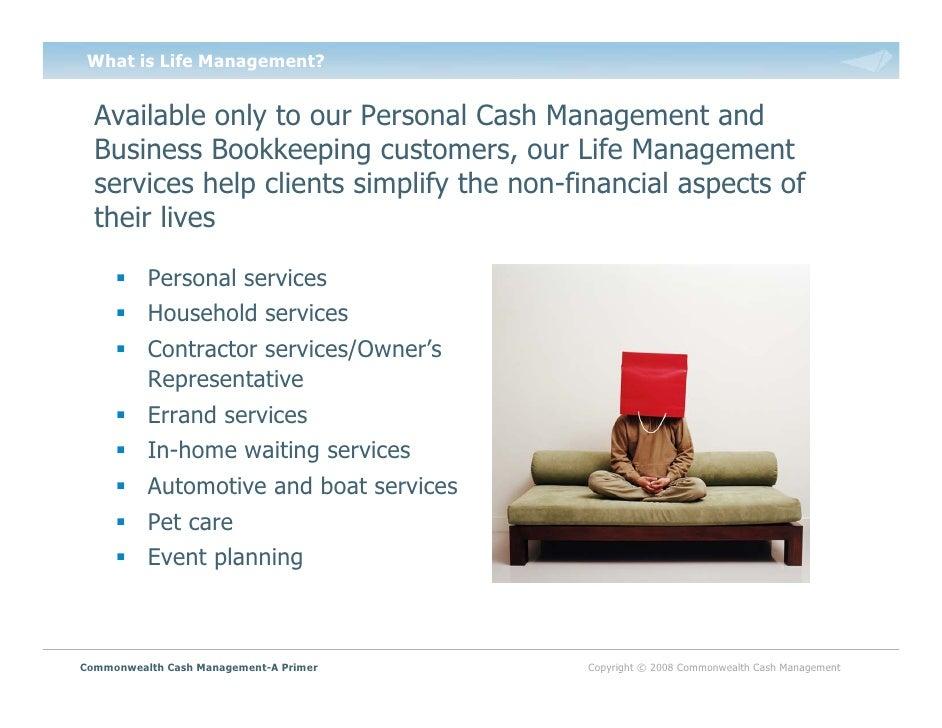 commonwealth cash management a primer