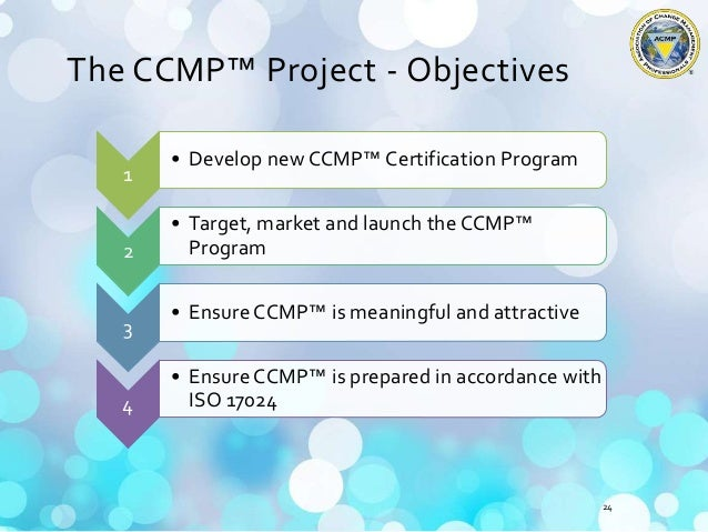 Overview of the Certified Change Management Professional (CCMP) desig…
