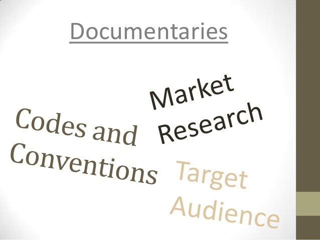 codes and conventions of a documentary Cast and credit is used to showcase the actors that are involved in the film and those who helped in the production of the film are credited for their work.