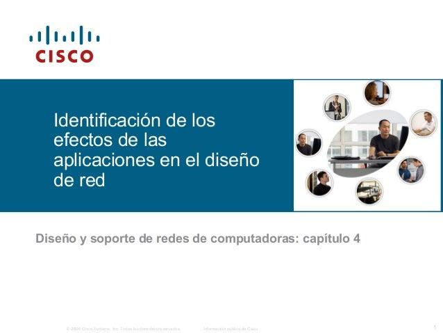 © 2006 Cisco Systems, Inc. Todos los derechos reservados. Información pública de Cisco 1 Identificación de los efectos de ...