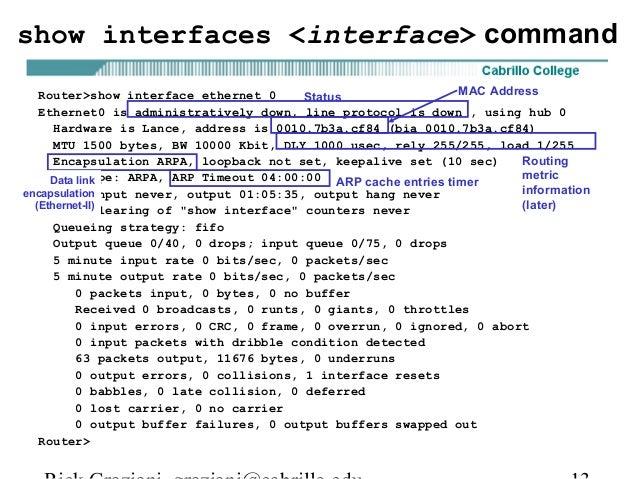 Ccna2 mod3-configuring a-router