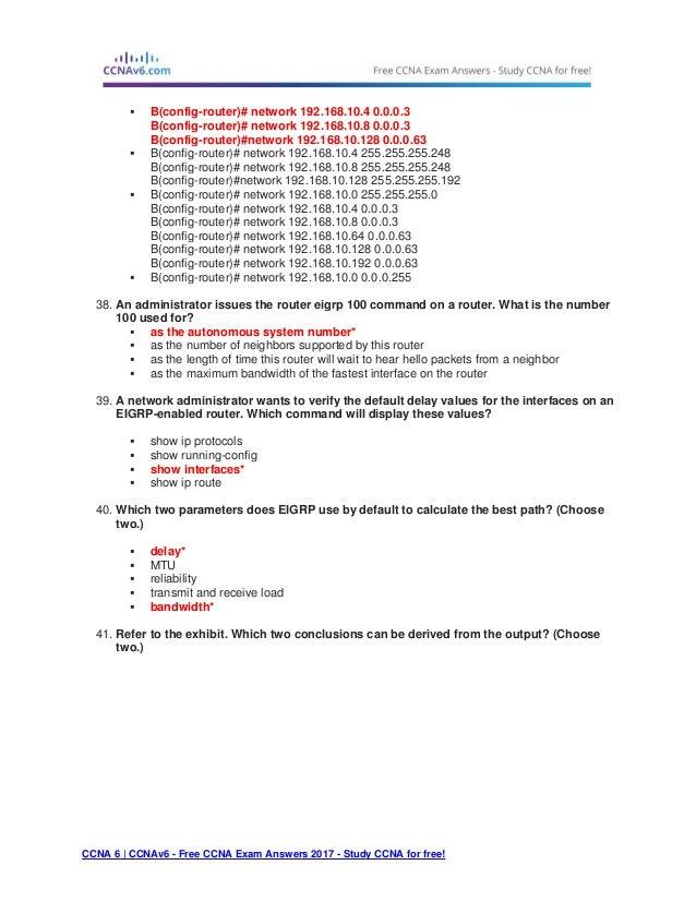 ccna 3 final exam answers 2017 pdf