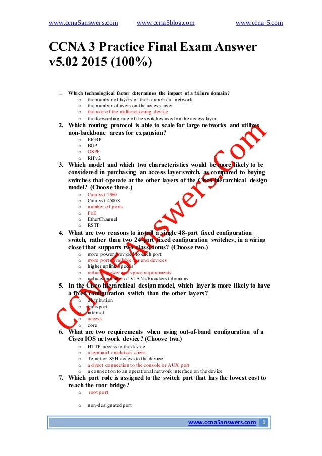 Ccna 1 chapter 3 pdf