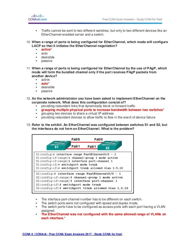 Ccna 3 (v5.0.3 + v6.0) chapter 3 exam answers 2017 – 100% full