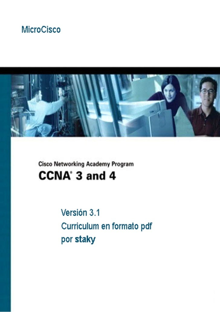 CCNA - Cisco Certified Network Associate   MicroCisco - staky                                                            1
