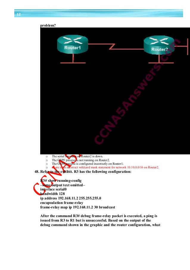 CCNA 4 RSE v0 Practice Skills Assessment PT Exam Answers