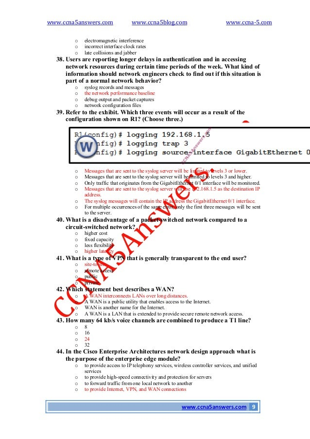 ccna4 final practical Ccna 1 v51 + v60 practice final exam answers 100% full 2017 – 2018 44 ( 89 ) votes note: if you have the new question on this test, please comment question and multiple-choice list in form below this article.