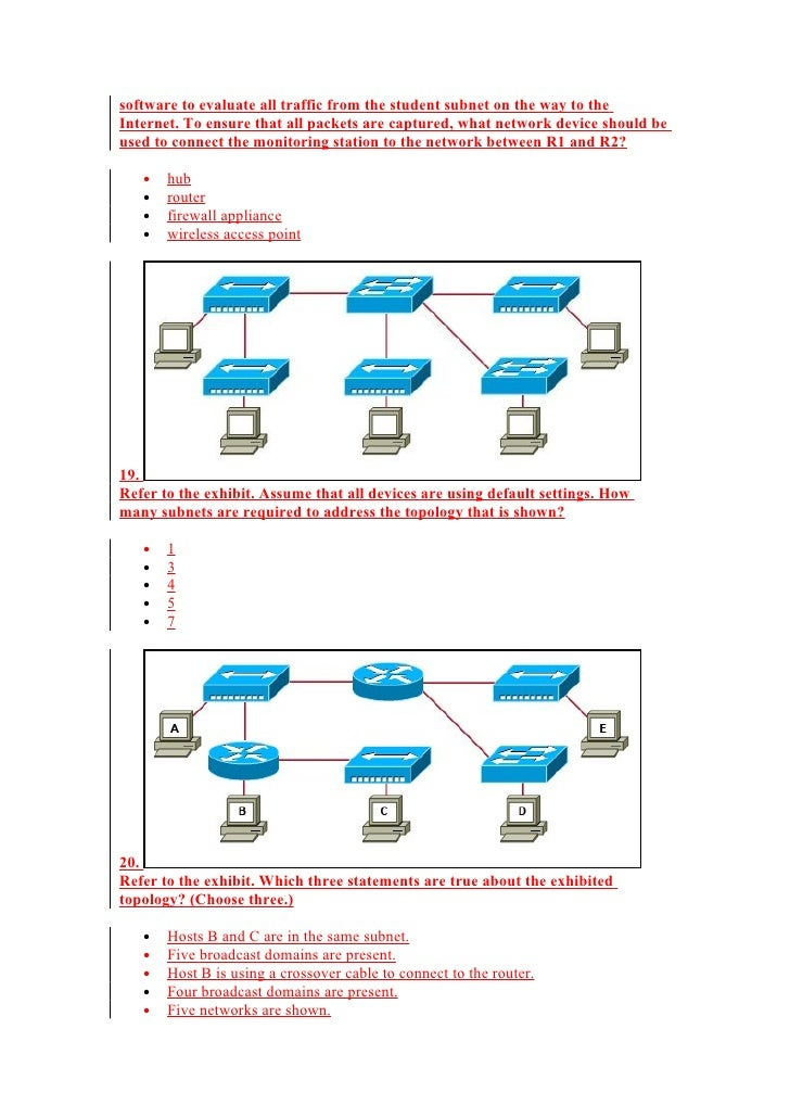 CCNA Courseware - CCNA v Exam