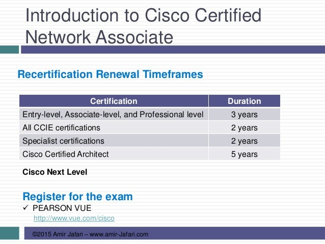 Ccna R S 01 Introduction To Cisco Certified Network Associate