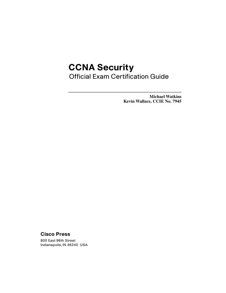 CCNA-Security Official Exame Cetification Guide
