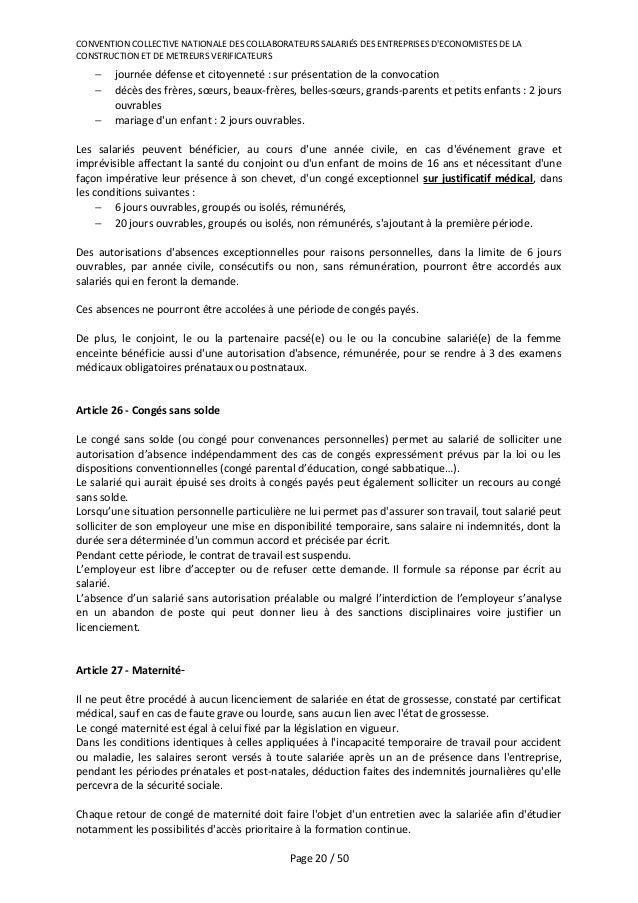 Idcc 1726 Nouvelle Convention Pour Les Cabinets D Economistes De La C