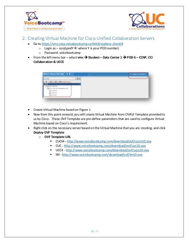 VoiceBootcamp Ccnp collaboration lab guide v1 0 sample