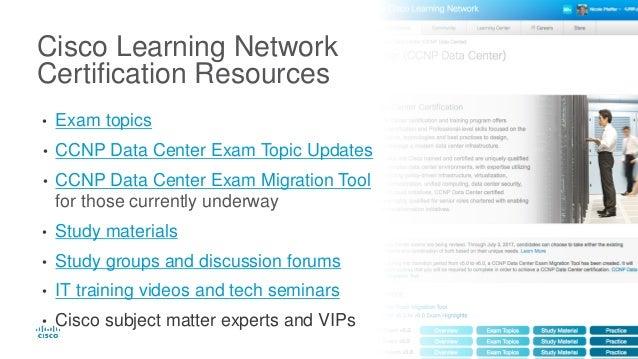 Cisco CCNP Data Center