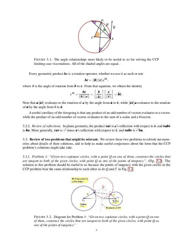 Solution of the CCP Case of the Problem of Apollonius via