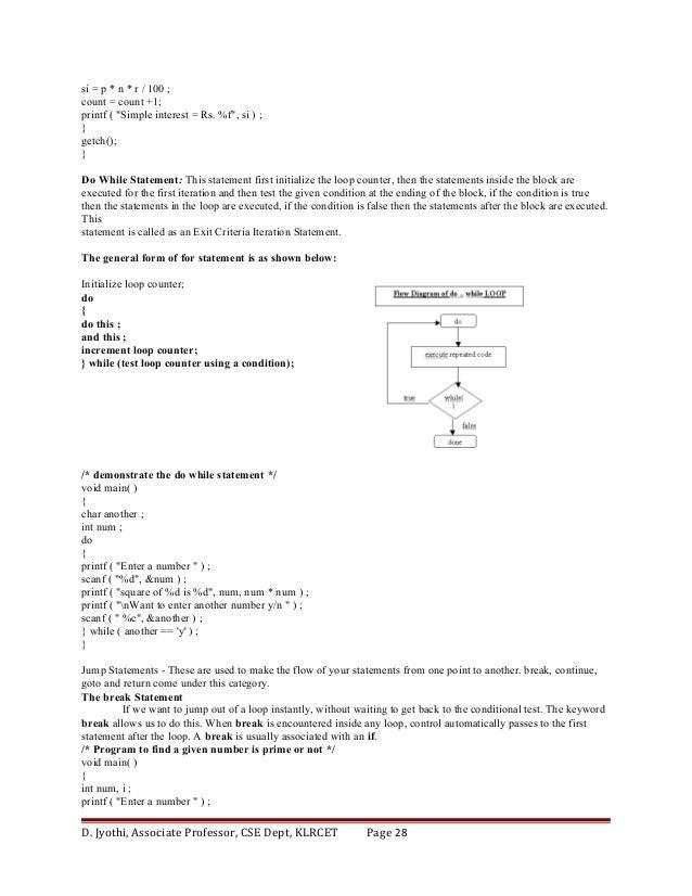 R Programming Jntu Notes