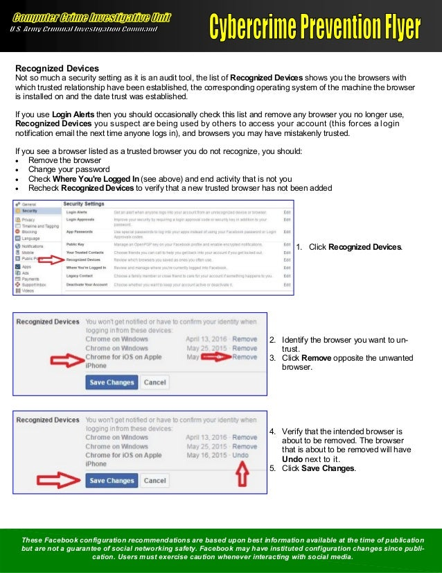 Configuring Facebook for a More Secure Social Networking
