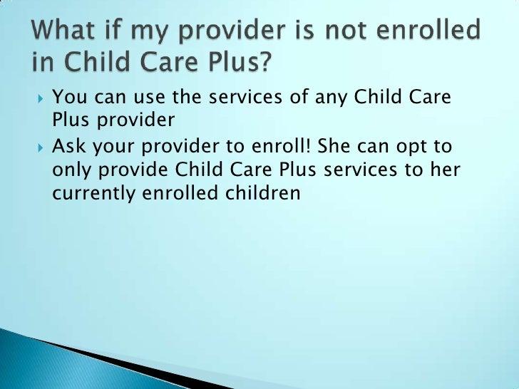 Child Care Plus Information Session