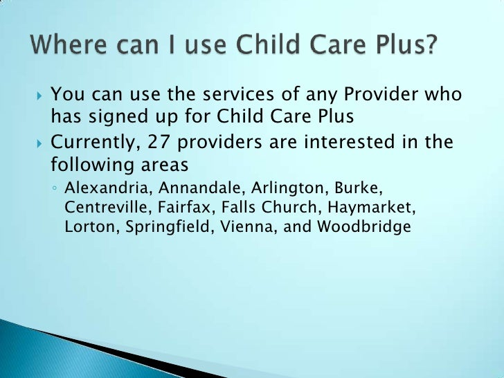 Evening Child Care Rates