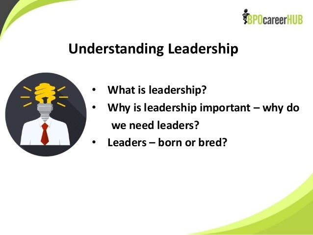why developing your own leadership skills is important Define and share your own authentic leadership philosophy which now features 100% of lyndacom courses develop in-demand skills with access and once you've looked at those four aspects of leadership, and reflected on the things that are important to you, you'll be well on your way to.