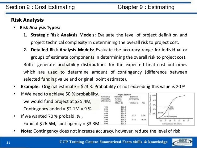 Risk Analysis • Risk Analysis Types: 1. Strategic Risk Analysis Models: Evaluate the level of project definition and proje...