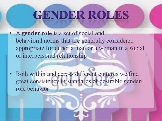 culture and gender roles Gender roles and perpetuating gender inequality and are powerful institutions within society furthermore, gender relations within the religious and cultural communities are a reflection of gender relations within broader society.