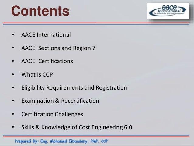 ccp certificate lecture