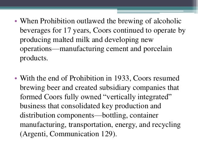adolph coors in the brewing industry Adolph coors in the brewing industry_esp uploaded by vicente aguirre rivera caso 12 adquisicion de quaker oats por pepsico uploaded by valeria caso coors (2.