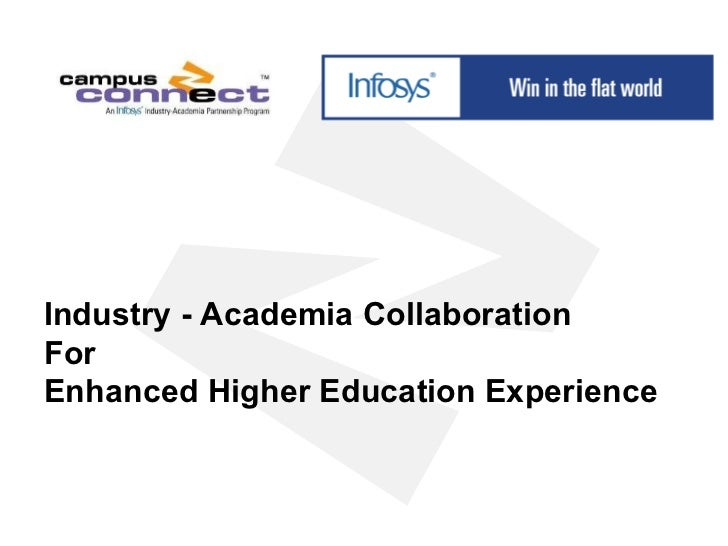 Industry - Academia Collaboration For Enhanced Higher Education Experience