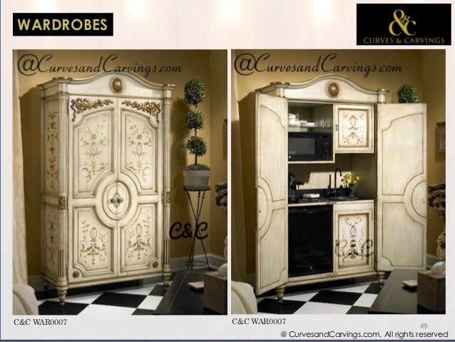 Curves carvings designer luxury furniture catalogue