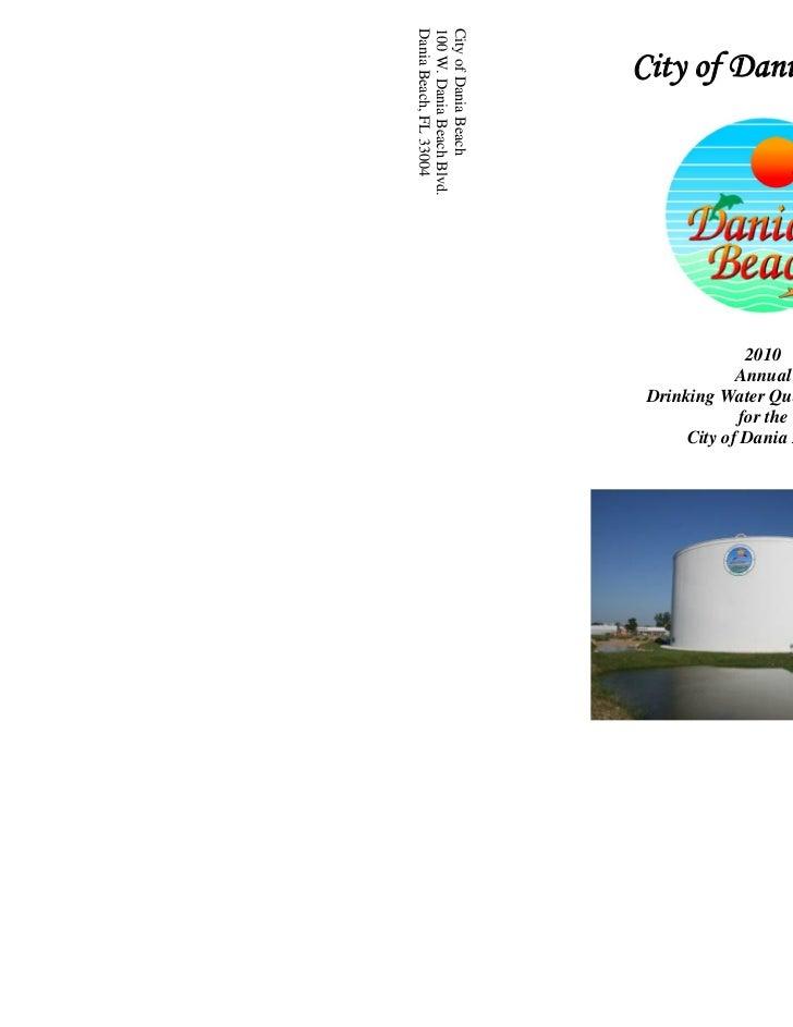 Dania Beach, FL 33004100 W. Dania Beach Blvd.City of Dania Beach                           City of Dania Beach            ...