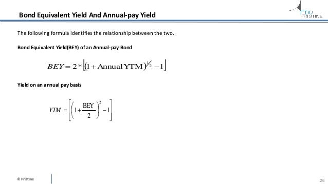 Annual coupon rate vs yield to maturity