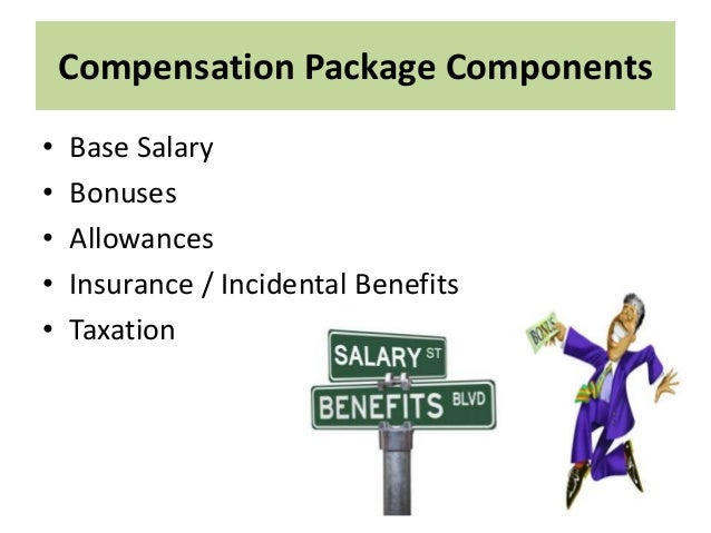 Major Aspects of An International Compensation Package