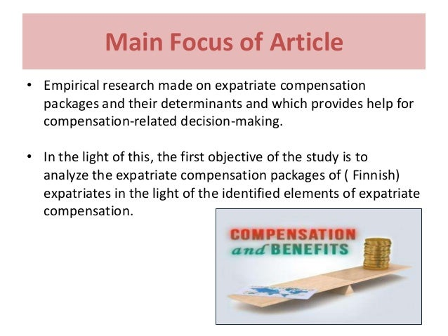 compensation and benefits articles