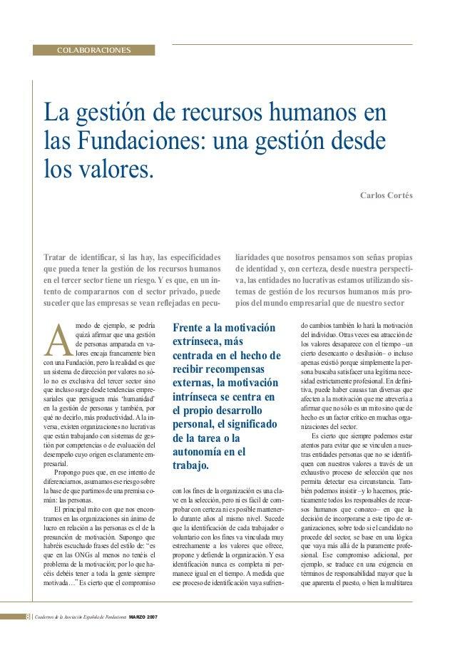 febrero 2007       30/3/07         11:21        Página 8                    COLABORACIONES              La gestión de recu...