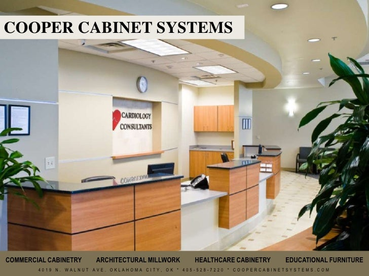 COOPER CABINET SYSTEMSu003cbr /u003eCOMMERCIAL CABINETRY ARCHITECTURAL MILLWORK  HEALTHCARE ...