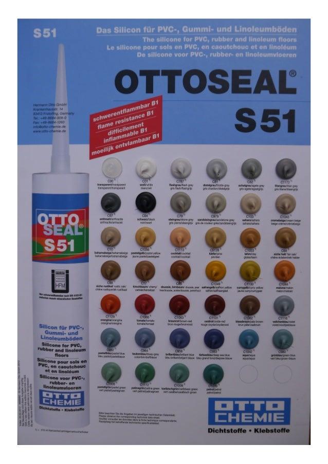 Coloris OTTO - couleurs silicone
