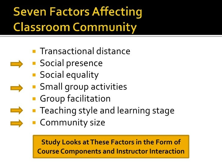 factors affecting teaching and learning in the classroom