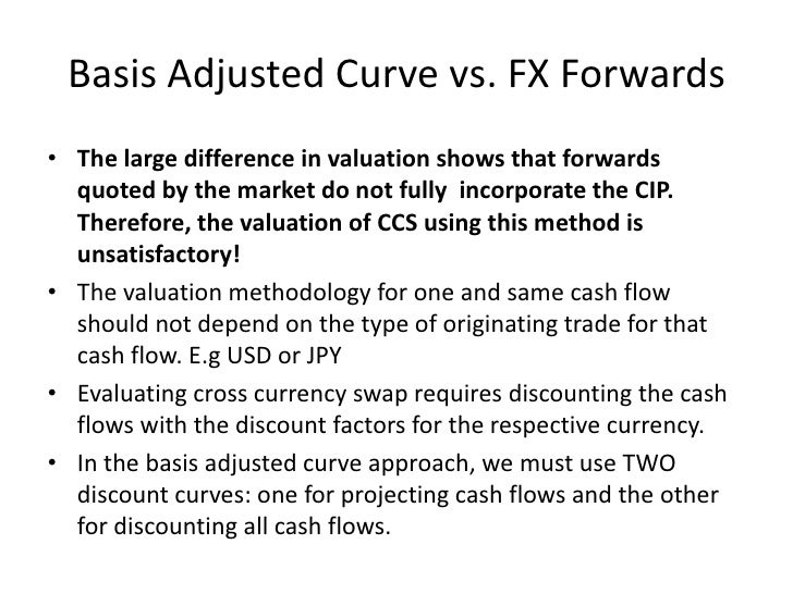 cross currency swap valuation pdf