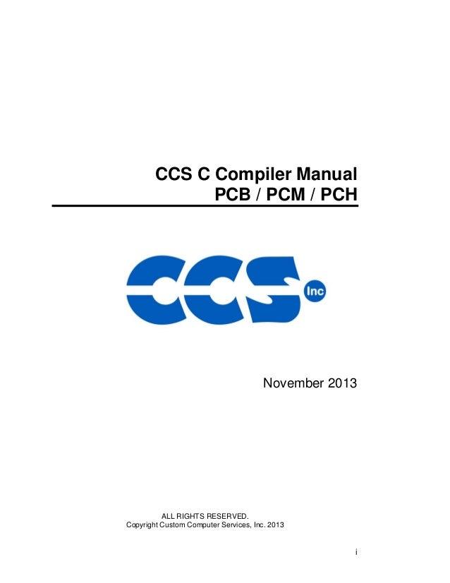Manual pic c