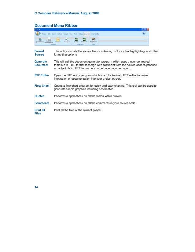 Ccs compiler Pic Manual