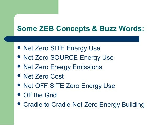 Ccse net zero energy for Netzro net